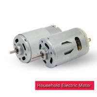 High Torque DC Electric Motor 35.8mm 12v 24 Volt With Plastic End Cap