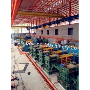 China Cut To Length 12M Hot Rolling Machine With Hydraulic Billet Pusher Grouping on sale
