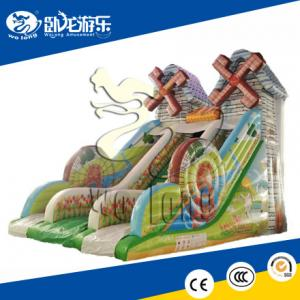 China inflatable slide combo, inflatable slip n slide on sale