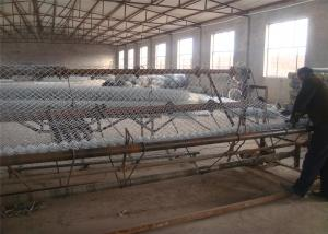 China Construction Chain Link Fence, Chain Link Fence Top Barbed Wire on sale
