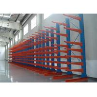 Galvanized Industrial Cantilever Racks , Single / Double Side Outdoor Racking Systems