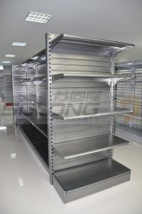 China Supermarket Display Racks , Metal Retail Shelving ISO9001 Certification on sale