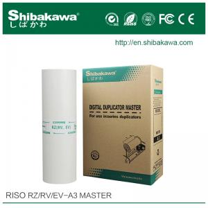 China Risograph duplicator master roll RZ/RV A3&Riso RZ duplicator master on sale