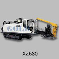 XZ500 all hydraulic horizontal directional drilling rig 50 Kn torque