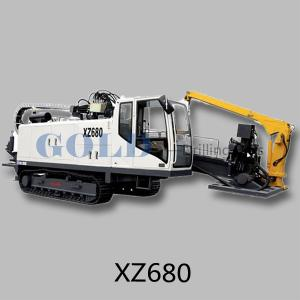China XZ680 Horizontal directional drill body self-carrying design on sale