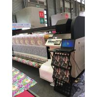 Inkjet Textile Printing Machine , Two / Four Kyocera Heads Banner Plotter Printer