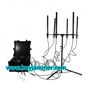 China 2017 New Product for 160W 4 to 8bands High Power Jammer up to 1000m Drone Jammer on sale