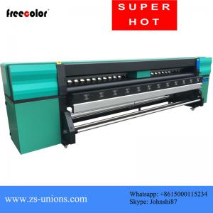 China 4 Pcs Konica 512I Heads 3.2M Wide Format Color Printer For Flex Banner Printing on sale