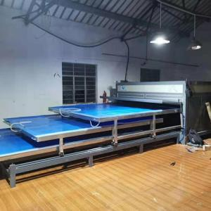 China 3 Layers EVA Laminated Glass Machine Independent System High Efficiency on sale