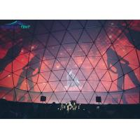 1000 People Large Geodesic Dome Tent For Concert Exhibition , Diy Marquee Tent
