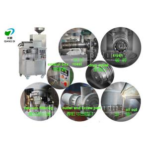 China full automatic oil pressing machine with roast function sesame/peanut/flax seed oil extracting machine on sale