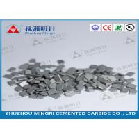 Mining And Oil Field Drill Tips Made Of Cemented Carbide Strong Bending Strength