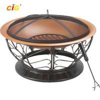 Black Brazier Outdoor Furnitures , 30 Inch Steel Brazier Bbq Grill