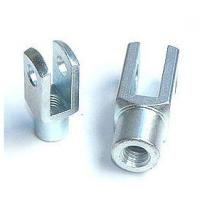 China Galvanized Clevis Rod Ends yoke DIN 71752 , G12x24 for Electric Power System on sale