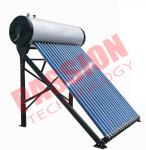 Vacuum Tube Solar Water Heater , Solar Tube Hot Water System Energy Saving