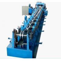 Galvanized Steel CZ Purlin Cold Roll Forming Machine High Speed 0 - 12m/Min