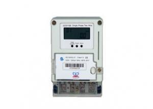 China Anti Aging Properties Digital Kwh Meter Single Phase / Infrared KWH Meter Digital 1 Phase on sale