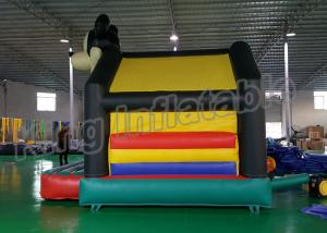 China Anti - Static Mickey Mouse Inflatable Jumping Castle For Outdoor Games CE Approval on sale