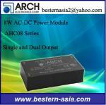 AC DCのアーチの電源AHC08-9S 8W 9Vは二重出力選抜し、