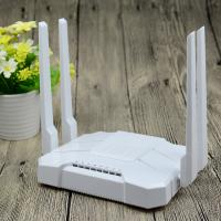 China White AC1200 Wifi Router , Home Gigabit Port Router Vpn Pass - Through on sale