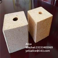 China Malaysia 90X90 Wooden Pallet Foot Hole Chip Block /chip block for wooden pallet foot pier on sale