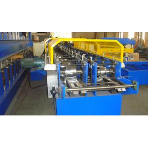 China High Speed Embossed Lip channel PLC Control Automatic Metal Stud Roll Forming Machine on sale