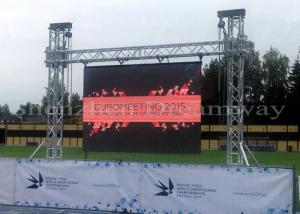 China 4mm Pixel Pitch Outdoor Advertising Led Screens Stage Background Waterproof Panel on sale