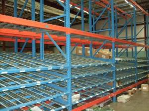 China Professional Capacity Warehouse Pallet Racking Systems , Adjustable Metal Shelving For Supermarket on sale