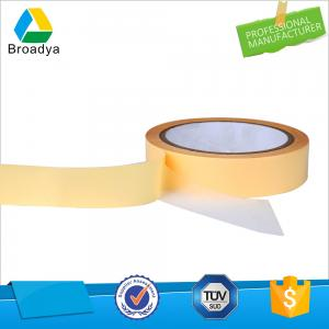 China yellow self adhesive tissue tape manufacturers & double sided non-woven tape with solvent based on sale