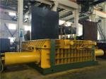 Double Main Pressure Cylinder Hydraulic Scrap Baler Machine Round Packing Block