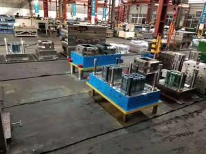 China Plastic Crate Auto Injection Molding Machine High Precision Customized Metal Stamping on sale