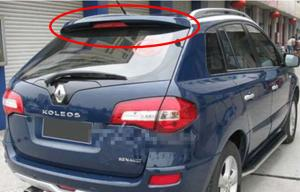 China ABS Rear Wing Auto Rear Spoiler For Renault Koleos 2009 , Blow Molding on sale