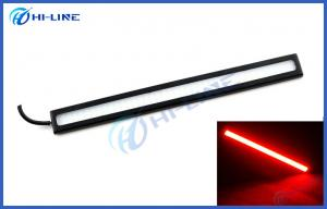 China Red Light COB LED Car Lights 12W DC 12V 17.2 cm Daytime Running Fog Light Waterproof on sale