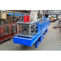 China 0.3-0.8mm Thickness Ridge Cap Roll Forming Machine High Working Efficiency on sale