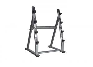 China Commercial Gym Rack And Bench / 4 Pairs Barbell Rack Custom Service Available on sale