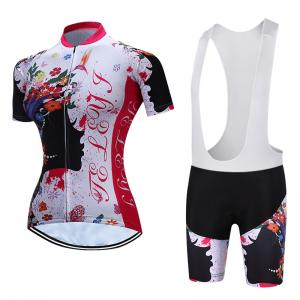 China Fashion Jersey Design Outdoor Cyclist's Clothing Cool Dry Beathable Polyester Sublimation Printing Cycling Sport Suits on sale