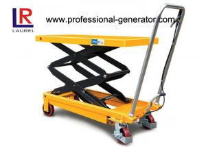 China Aerial Work Platform Double Scissor High Lift Lift Table For High Place Operation on sale