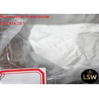 Procainamide Hydrochloride Pharmaceutical Raw Materials , Anabolic Steroid Powder CAS 614-39-1