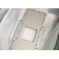 China Mechanical Machined Aluminum Parts / Fabrication Machined Billet 6061sand Blasting on sale