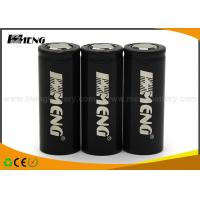 Lithium ion 26650 Electronic Cigarette Battery 5000mah 60A High Discharging