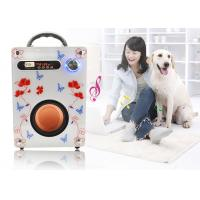 Fashion Leopard Print Surface Mobile Portable Stereo Speakers Wireless Speakers