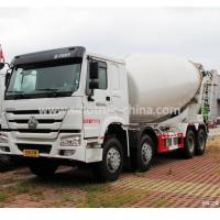 12 Wheels 8×4 Concrete Mixer Truck One Bed Weatherproof For Construction