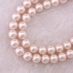 China Fancy pink pearl beads on sale