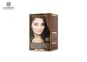 China 10 Botanical Ingredients Hair Dye Cream , Low Ammonia Intensive Color Cream on sale