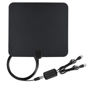 China High Gain Amplified Indoor HDTV Antenna Signal Reception Use for DVB-T / DVB-T2 on sale