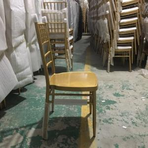 China Plastic Acrylic Gold Resin Tiffany Chiavari Dining Chair For Wedding on sale