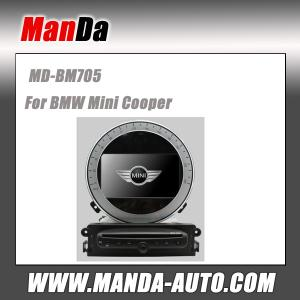 China Factory car radio for bmw Mini Cooper/ Mini Countryman Car dvd player with navigation gps oem car monitors automobiles on sale