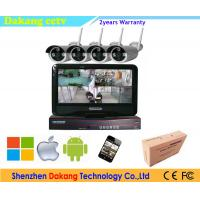 2.4 GHZ Wireless NVR CCTV Camera Security Systems For Home