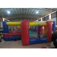 Inflatable Soccer Court  Arena Playground , Inflatable Football Stadium Safe Nontoxic