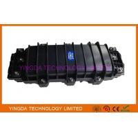 China Black Fiber Optic Joint Closure 24 Fiber Splice Tray For Manhole / Underground on sale